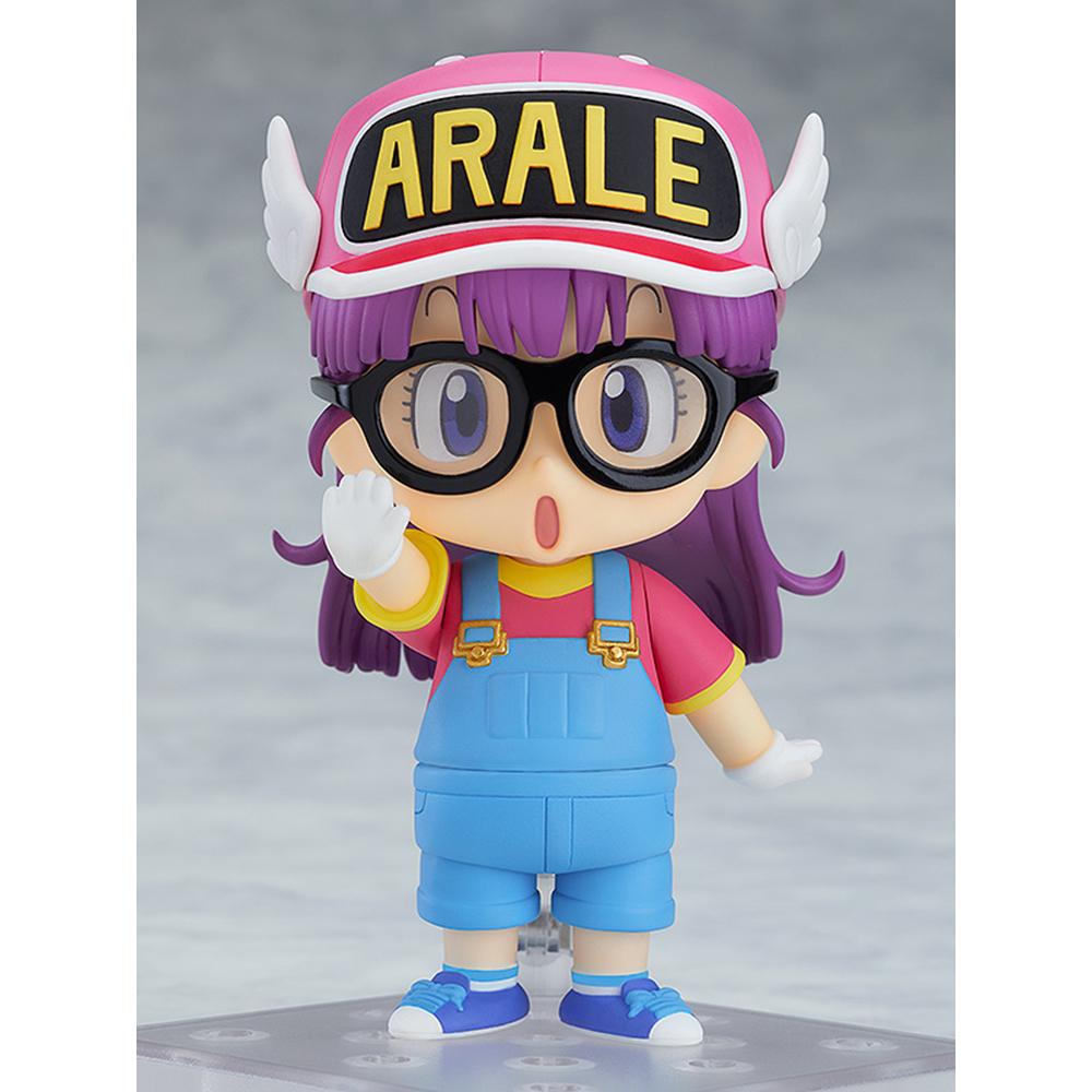 商品名称:粘土人 怪博士与机器娃娃 阿拉蕾酱 则卷阿拉蕾 q版可动手办